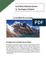 Cordillera de Los Andes Cta