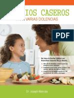 Remedios Caseros eBook