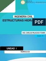 Semana 09 Estructuras Hidráulicas (1)