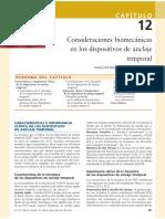 Consideraciones Biomecánicas en Los Dispositivos de Anclaje Temporales (Cap. 12) - GraberVanarsdall
