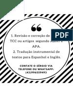 Tradução, Revisão e Correção de Textos