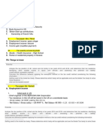 Tax law notes