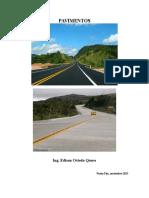 Clase Pavimentos Flexibles y Rigidos