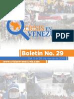 Boleti n 29 Crisis en Venezuela ES A