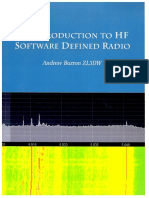 An Introduction Tohf Software Defined Radio
