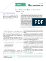 Measuring the Effects of a Posture Shirt on Ergonomic Positioning at the Dental Chair