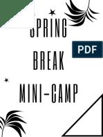 Spring Breakmini Camp (1)