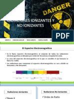 Generalidades Radiaciones Ionizantes y No Ionizantes