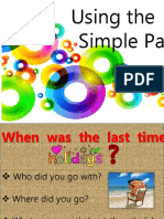 Simple Past Speaking Practice Conversation Topics Dialogs Icebreakers 94189