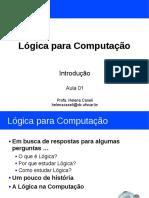 Introdução à Lógica para Computação