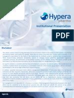 Hypera Pharma Apresentação
