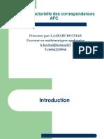 Analyse Factorielle Des Contingence AFC