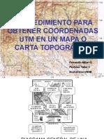 Coordenadas UTM FMO