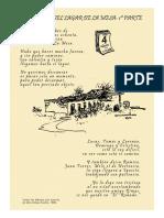 Poema el Lagar de La Mesa (Tenerife, España).