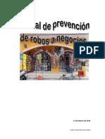 Manual de Prevencion de Robos a Negocios
