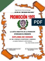 Caratula de Diploma