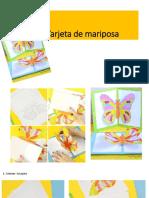 Tarjeta de Mariposa