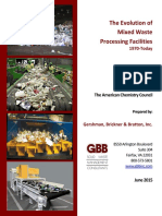 The Evolution of Mixed Waste Processing Facilities