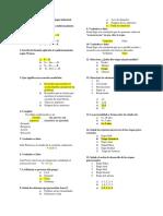 Cuestionario de Psicologia. 1