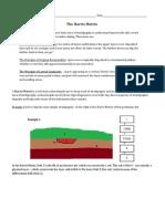 Harris Matrix Activity Sheet