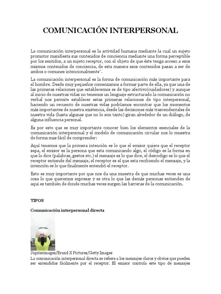 Perfecto Habilidades De Comunicación Interpersonal Reanudar Muestra ...