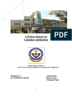 54282037-Customer-Satisfaction-Project-Report- new-1.doc