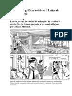 Dos novelas gráficas celebran 15 años de Quique Hache