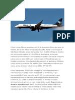 A Azul Linhas Aéreas Completou Em 15 de Dezembro Último Oito Anos de História