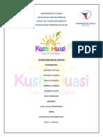 Kushi Huasi Flyers y Volantes