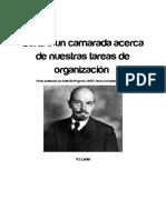 07. [AP 7.] - V.I. Lenin - Carta a Un Camarada