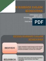 Kesan Rabbaniyah