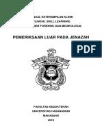 Manual CSL Forensik Medikolegal 3 Pemeriksaan Luar Pada Jenazah