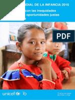 EMI 2016. Peru - Acabar Con Las Inequidades Para Brindarles Oportunidades Justas a Toda La Ninez
