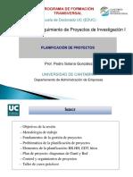 [PD] Presentaciones - Proyectos de Investigacion