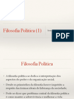 Filosofia Política 1 prof gabriel lima