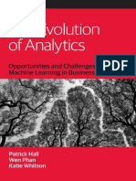 The Evolution of Analytics- A study of Data Science in Analytics