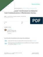 Anderson Et Al JPSM ICU Nurse Survey in Press