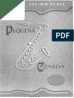 Pedro Iturralde - Pequeña Czardas (4 Sax)