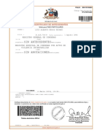 Certificado de Antecedentes 04 Marzo