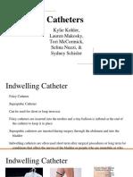 catheters group presentation