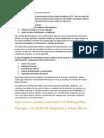Principio 1 de COSO III