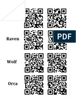cirlce of courage qr codes