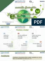 I. El Desarrollo Sostenible
