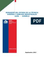 BÚSQUEDA DEL ESTADO DE LA TÉCNICA DISEÑOS Y DIBUJOS INDUSTRIALES GUÍA - EJEMPLO