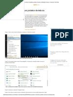 Como Ativar e Desativar Protetor Tela Windows 7-EchTudo