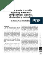 ¿Cómo enseñar la notación matemática.pdf