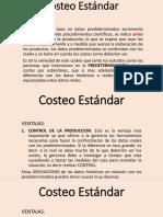 Presentacion Costeo Estandar Materia prima