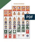 Afiches de Seguridad