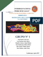 Estudio Hidrologico La Monteria Modelo