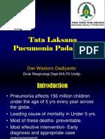 Tata Laksana Pneumonia (WPD)